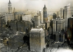 New york city view 1919